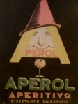 Art deco poster, Aperol Aperitivo