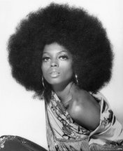 diana ross afro, vintage