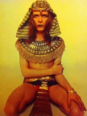 David Bowie, Hunky Dory, album, Pharoah, costume, kooky