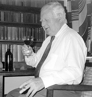 Walter James, wine, glass, drinking, writer, Australia