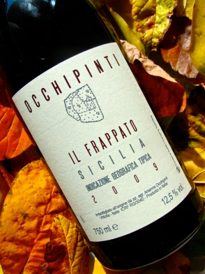 wine, label, Sicily, Italy