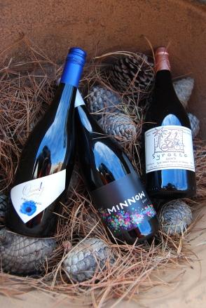 Quealy Friulano Amphora 2011, Shadowfax Minnow 2011, Alain Graillot Syrocco Syrah 2009