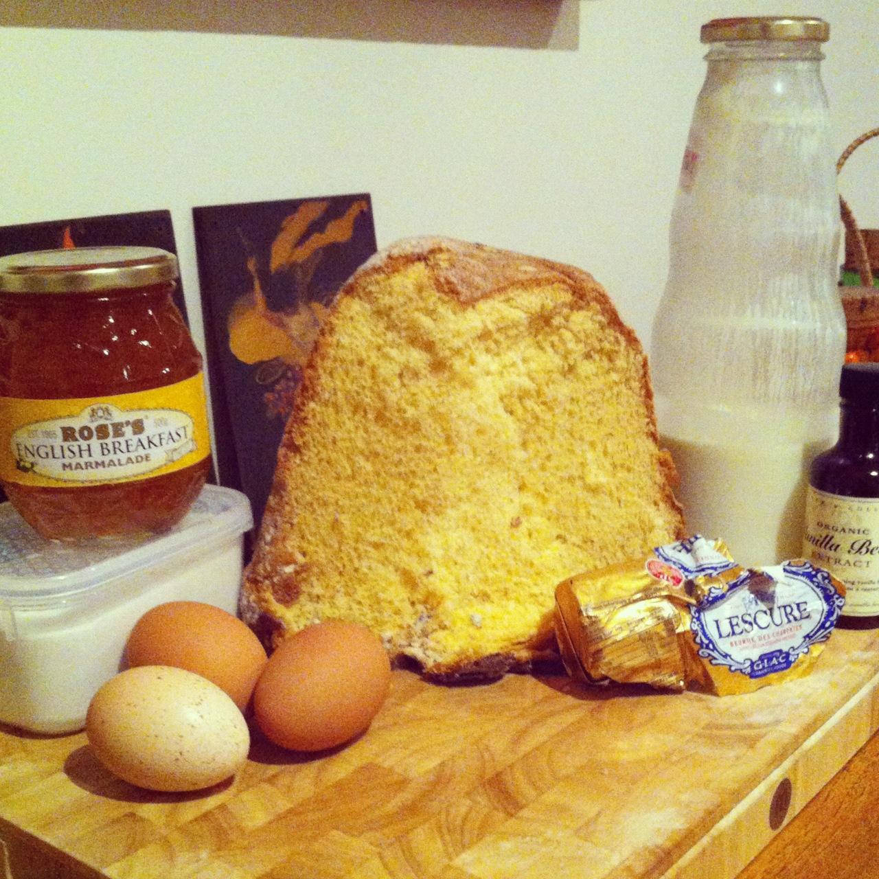 Butterin' the Golden Bread (Pandoro)   La Donna del Vino
