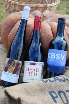 head red gsm, brash higgins cabernet sauvignon, anselmo mendes muros antigos vinho verde