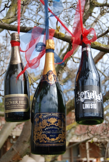andre clouet, champagne, clover hill, sparkling, tasmania, france, lambrusco, lini 910, italy