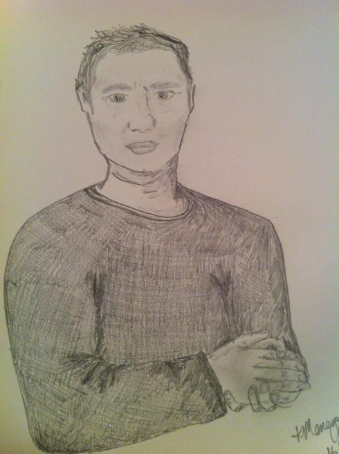 Sketch by La Donna del Vino