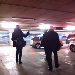 Getting lost in the Vin Italy carpark with Giuseppe and Aldo Vaira