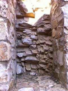 The rocks in the soil at Castello di Ama, Chianti Classico