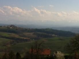 Castello di Luzzano area in Emilia Romagna/Lombardy