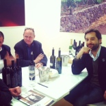 Hanging with the two sons of Benanti at Vin Italy. Lovely chaps.