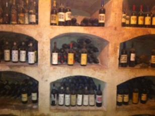 Giovanella Fugazza's cellar at Castello di Luzzano