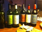 The line-up from Santa Caterina, Liguria