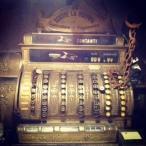 Old cash register at Dodici Apostile