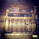 Old cash register at Dodici Apostile