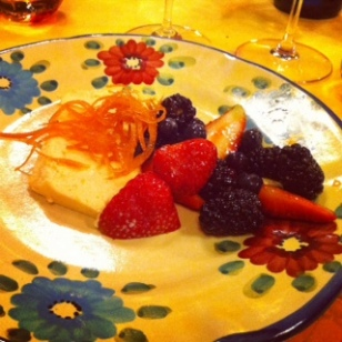 Dessert at Dodici Apostile