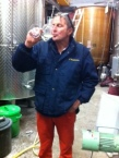 Sipping some quality Timorasso from Costa del Vento with Walter Massa