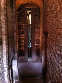 Artwork at Castello di Ama