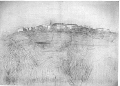 Mattina d'ottobre – Monleale – 1905 by Pellizza da Volpedo