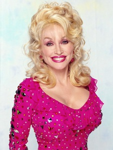 The plump Dolly Parton